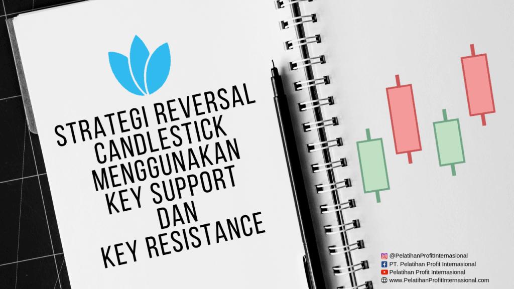 Strategi Reversal Candlestick Menggunakan Key Support Dan Key Resistance