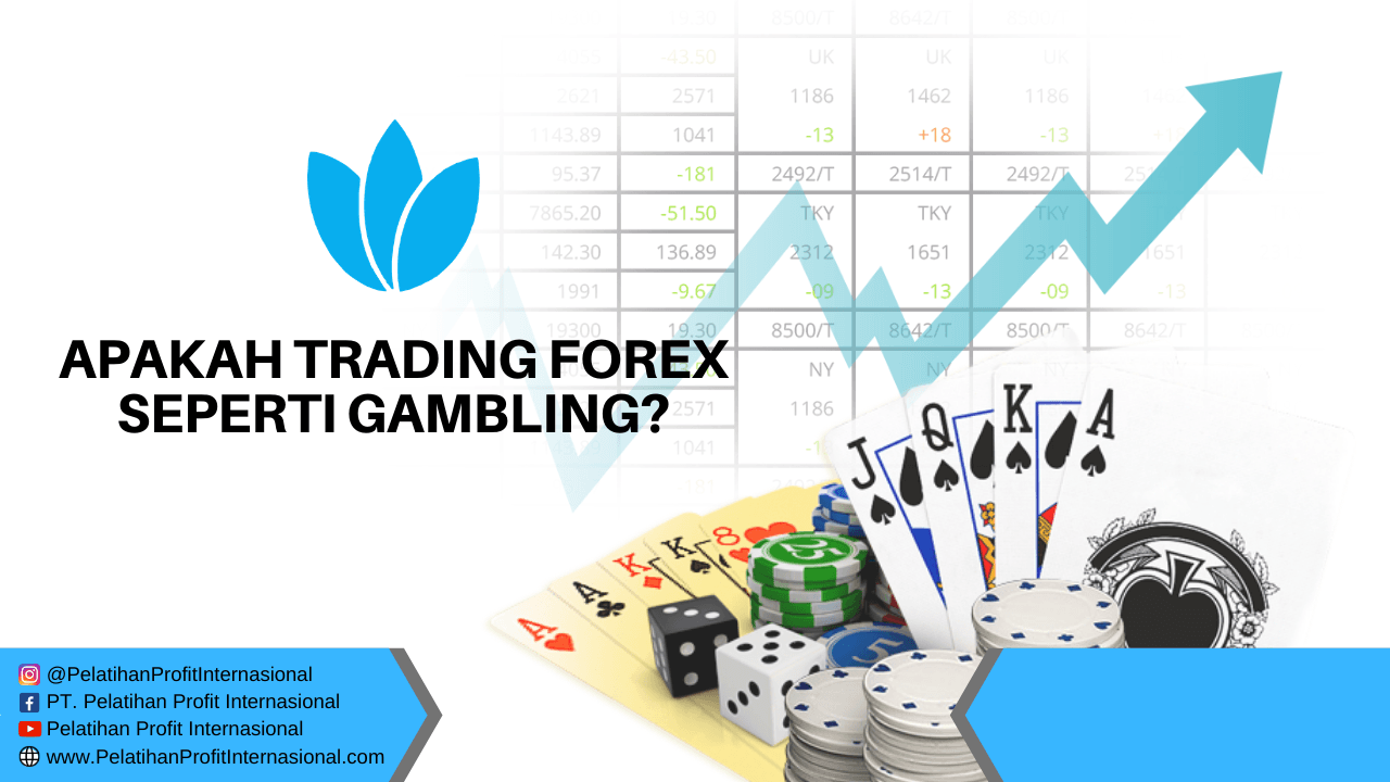 is online forex trading gambling
