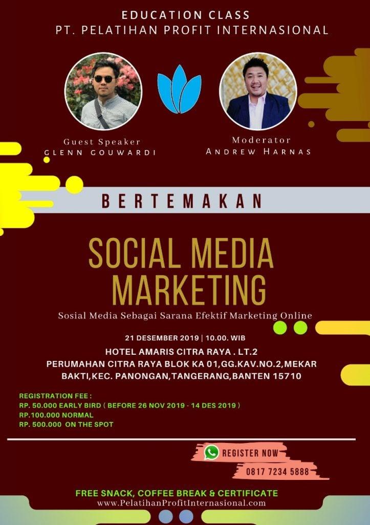 "Edukasi Tentang ""Sosial Media Marketing"" With PT Profit Internasional"