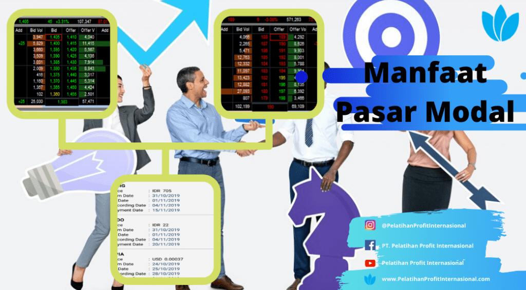 Manfaat Pasar Modal