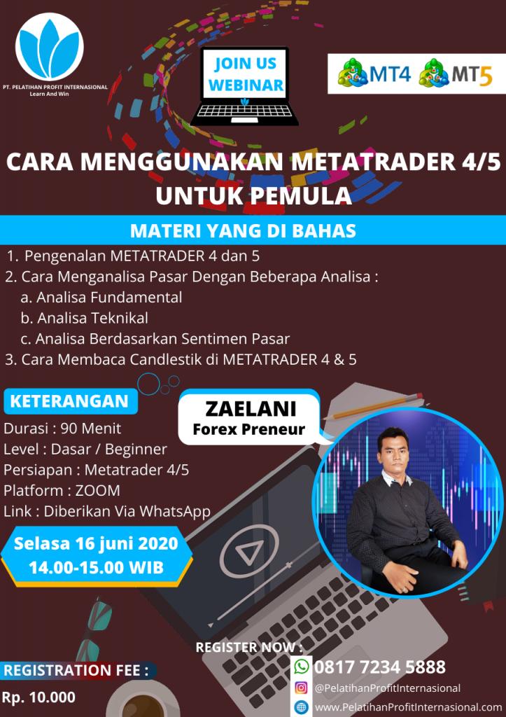Webinar Live Bersama Zaelani