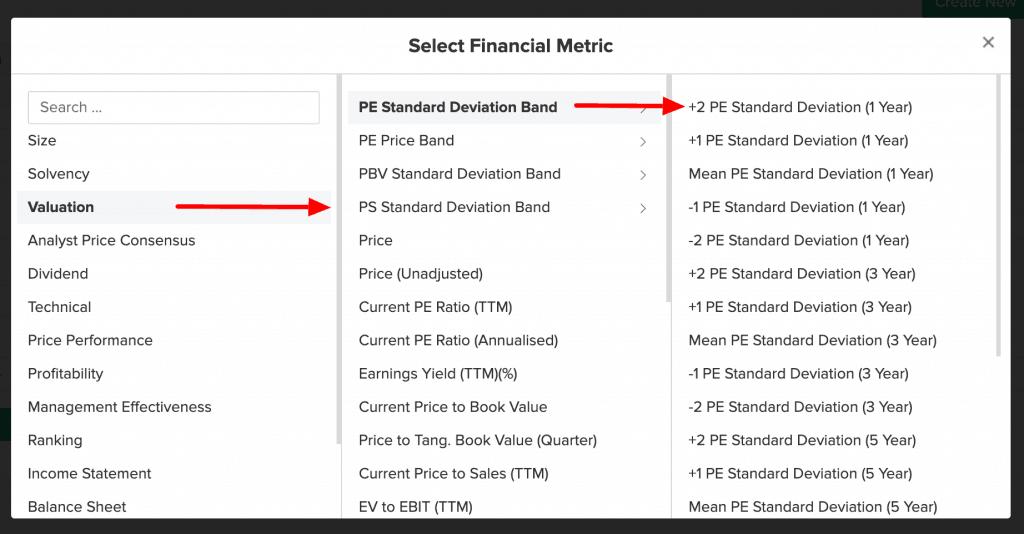 Description: Kriteria Stock Screener