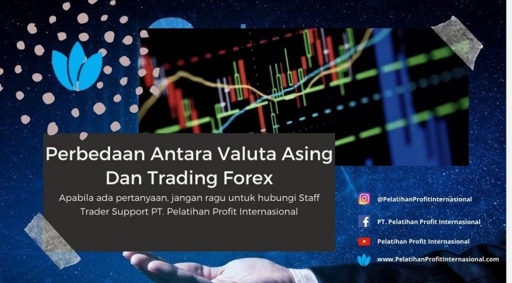 Perbedaan Antara Valuta Asing Dan Trading Forex