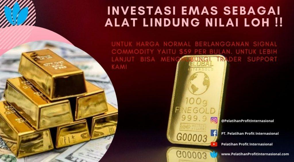 Investasi Emas Sebagai Alat Lindung Nilai Loh !!