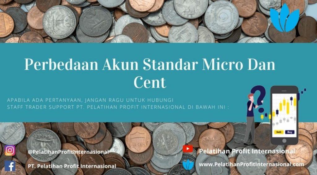 Perbedaan Akun Standar Micro Dan Cent