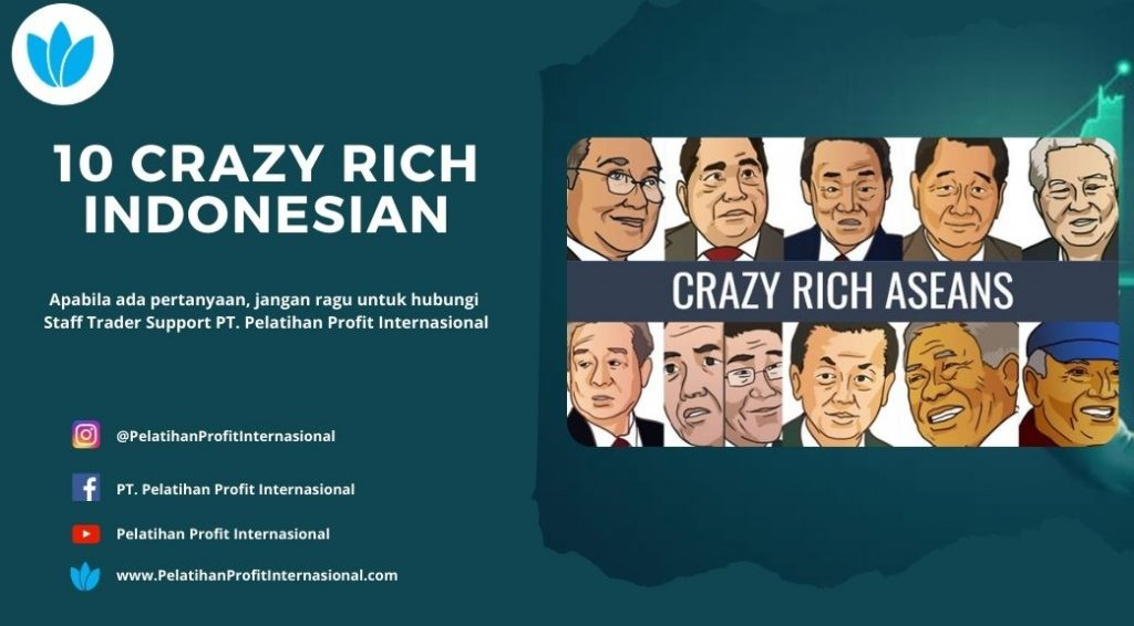 10 Crazy Rich Indonesian