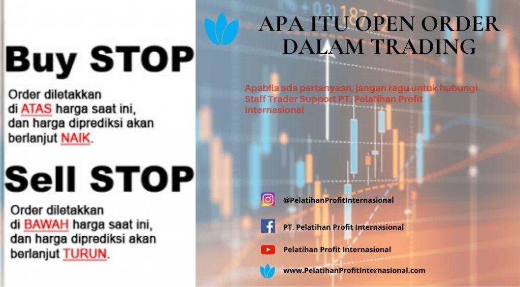 Apa Itu Open Order Dalam Trading