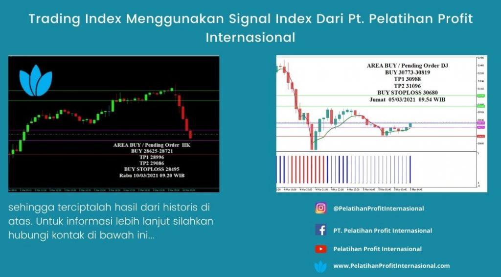 Trading Index Menggunakan Signal Index Dari Pt. Pelatihan Profit Internasional