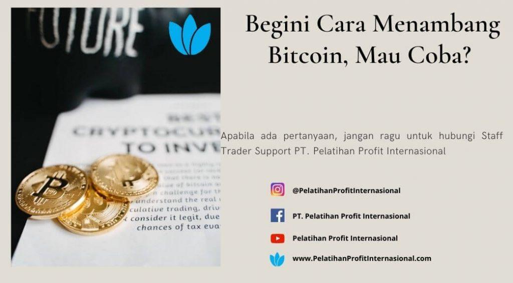 Begini Cara Menambang Bitcoin, Mau Coba?
