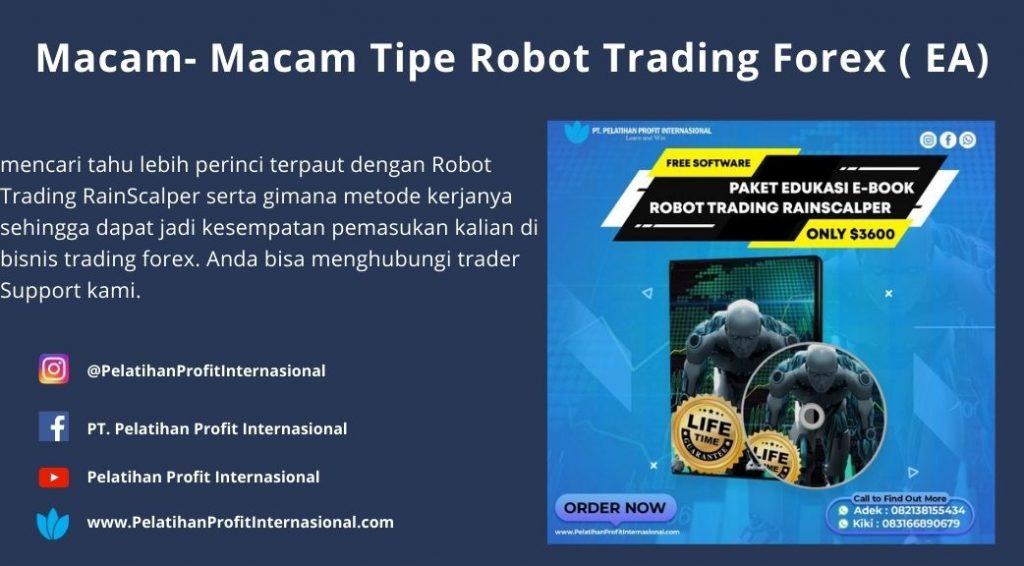 Macam- Macam Tipe Robot Trading Forex ( EA)