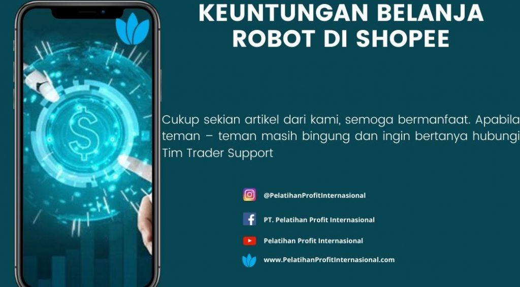 Keuntungan Belanja Robot Di Shopee